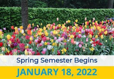 Spring Semester Begins  Image