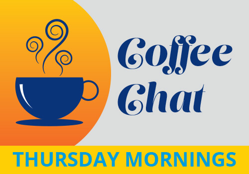 Coffee Chat Thursday Mornings Image